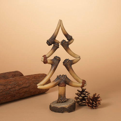 Resin Deer Antler Christmas Tree