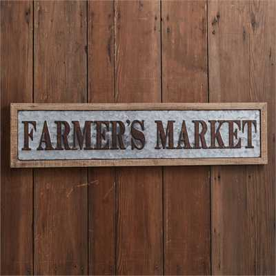 Farmer's Market Wood Wall Art