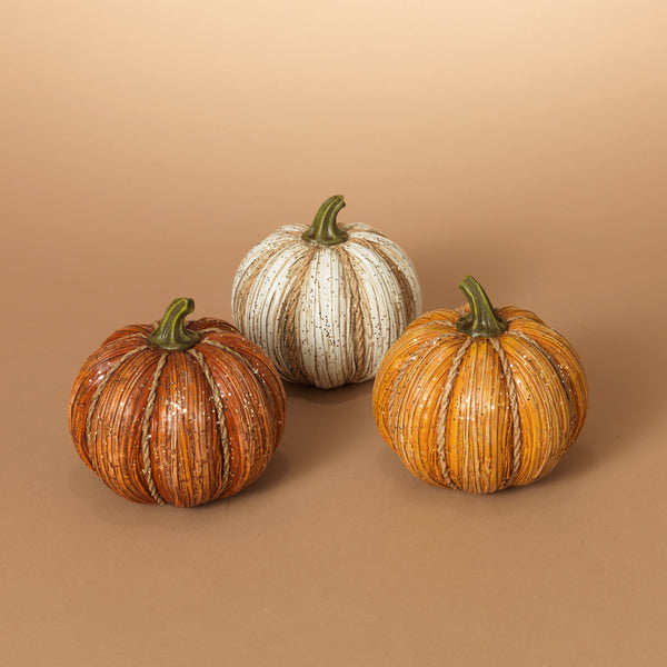 "5.1"" Resin Harvest Pumpkin"