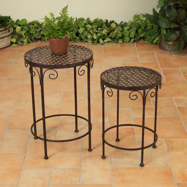 Metal Accent Tables-2 sizes-sold separately