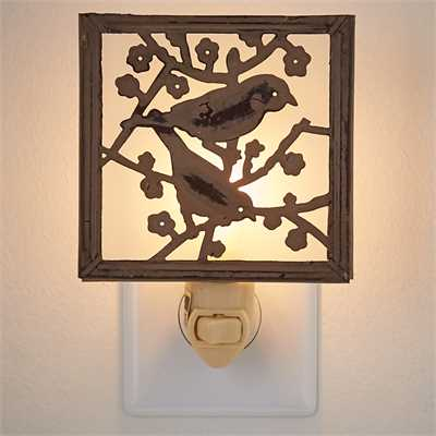 Backyard Birds Night Light
