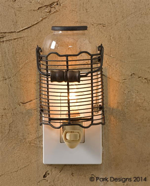 Wire Jar Night Light