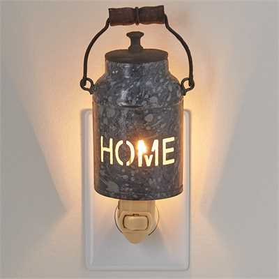 Home Canister Night Light