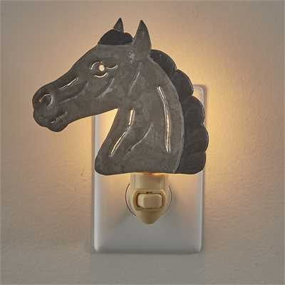 Horse Head Night Light
