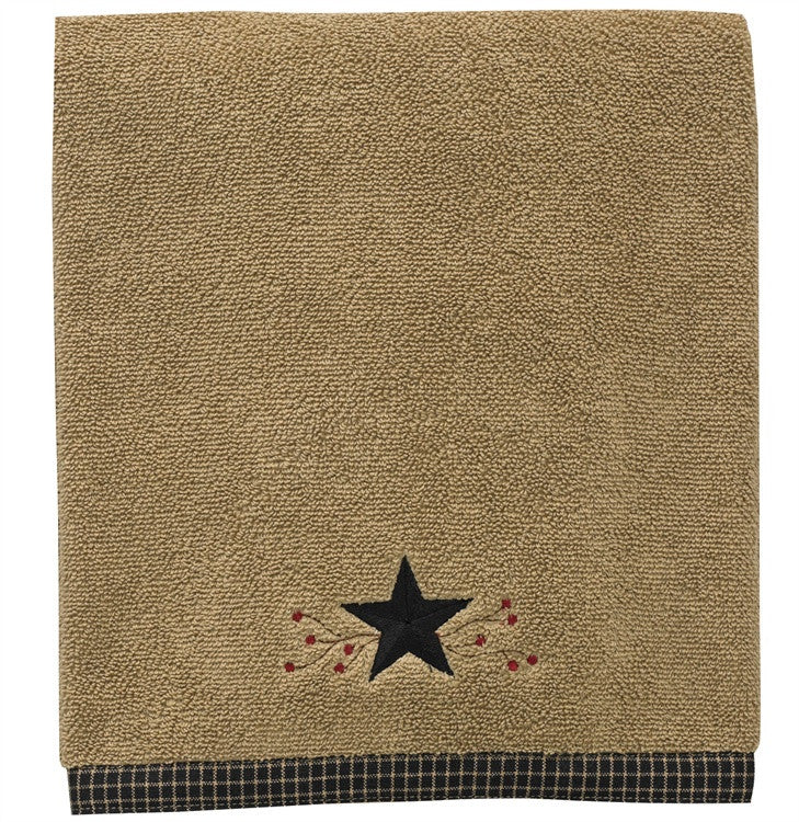 Star Vine Terry Bath Towel