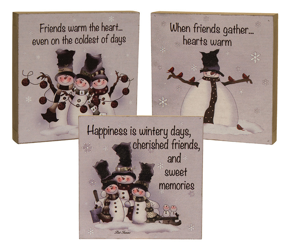 Friends Warm The Heart Signs