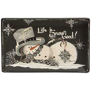 Life Is Snow Good Tray