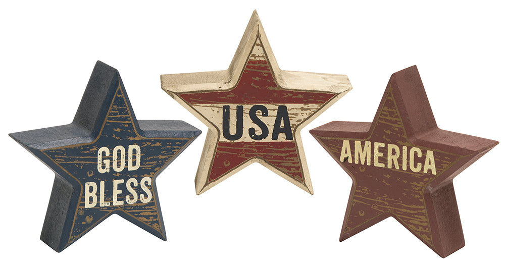 USA Star Sitters-3 Assorted