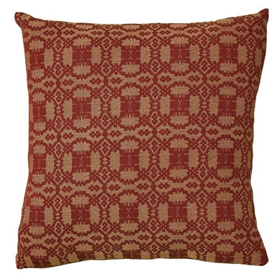 "Campbell 18"" Pillow Set - Wine - Poly Fill"