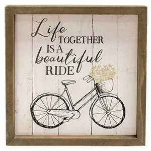 Beautiful Ride Framed Sign