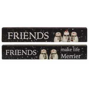 Friends Make Life Merrier Mini Sticks