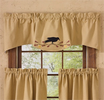 Primitive Crow Land Wave Valance