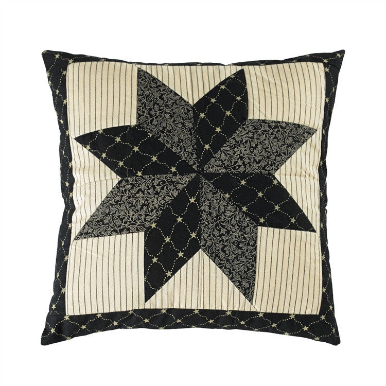 "Carrington 16"" x 16"" Quilted Pillow"