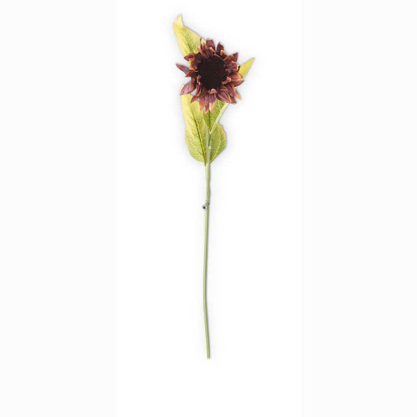 "21"" Burgundy Real Touch Sunflower"