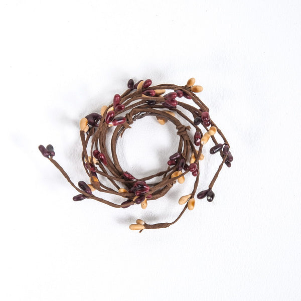 1.5 Rice Berry Candle Ring Mulberry