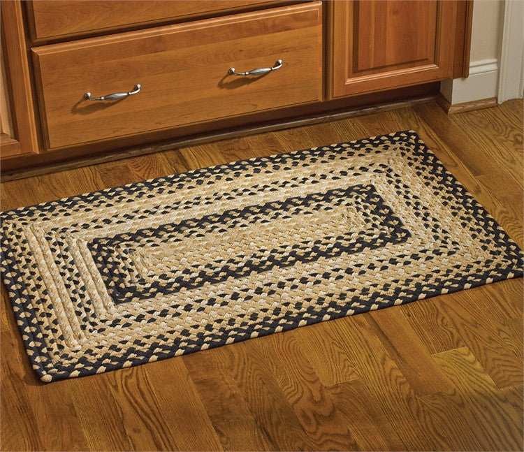"Cornbread 27"" x 45"" Rectangle Braided Rug"