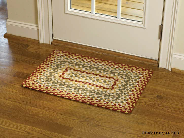 "Mill Village 20"" x 30"" Rectangle Braided Rug"