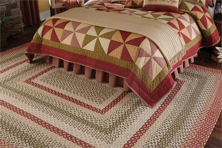Mill Village 8' x 10' Rectangle Braided Rug