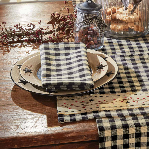 Berry Gingham Napkin