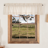 Simple Life Flax Natural Valance