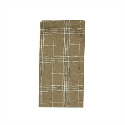 Fieldstone Plaid Napkin - Cream