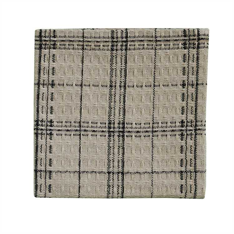 Fieldstone Plaid Dishcloth - Black