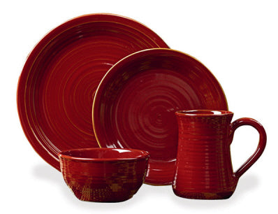 Aspen Cereal Bowl Solid Red