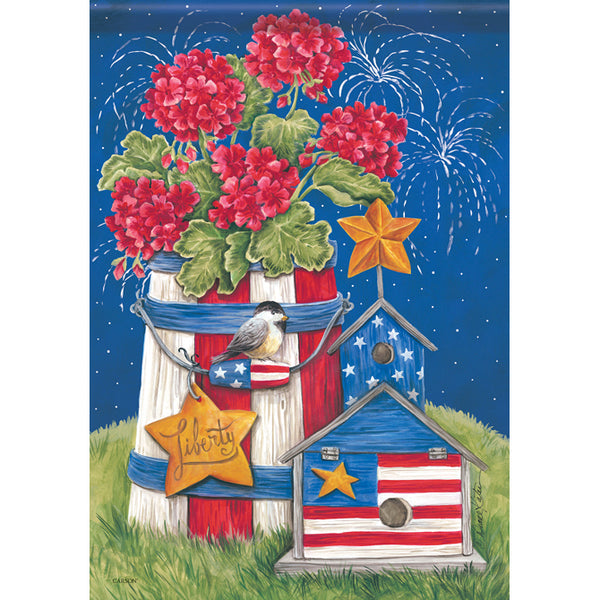 """Patriotic Garden"" Dura Soft™ Flag"