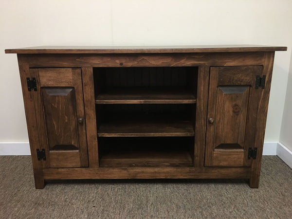 TV Stand with Raised Panels