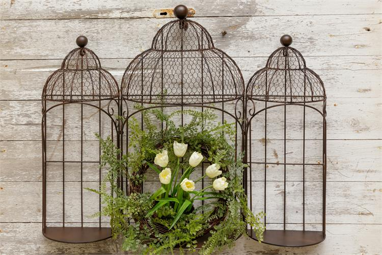 Bird Cages - Flat Back For Hanging