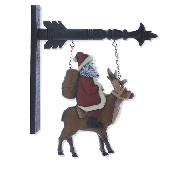 Santa on Reindeer Arrow Replacement