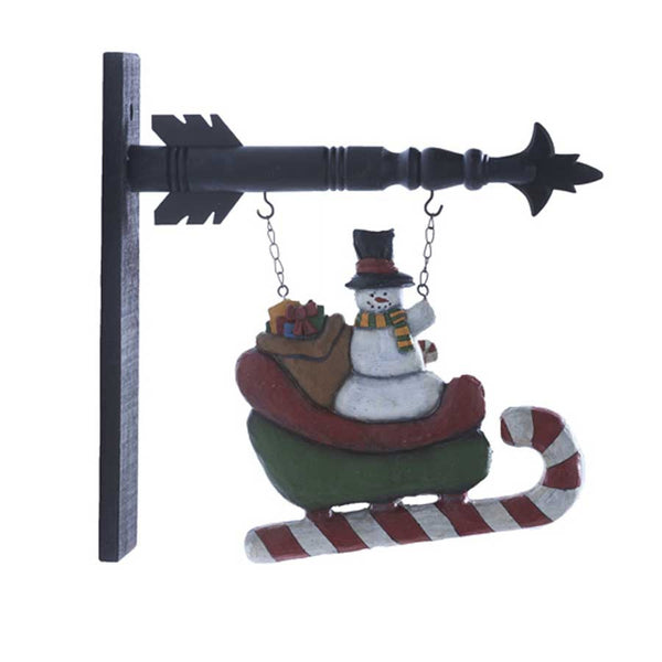 Snowman in Sled Arrow Replacement