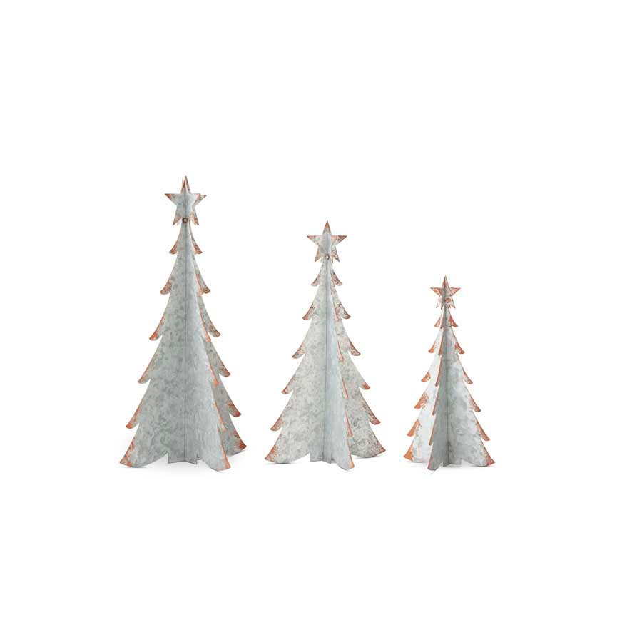 Metal Christmas Trees (Grad. Sizes)