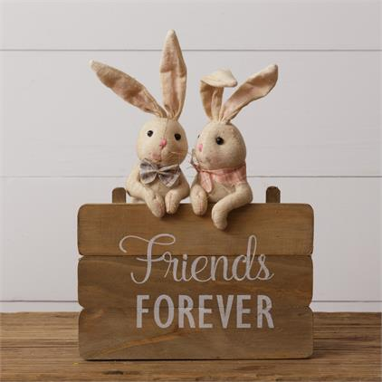 Bunny - Sign, Friends Forever