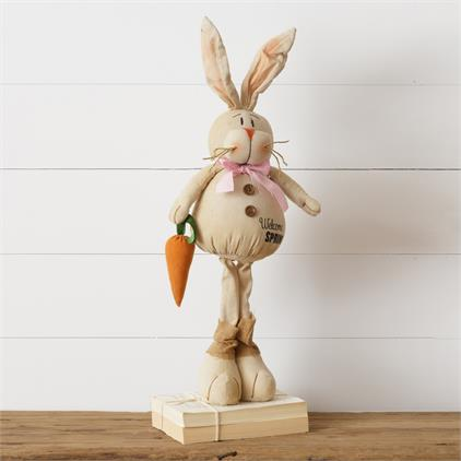 Cheeky Standing Bunny - Welcome Spring