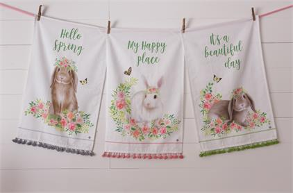 Bunny in Bloom - Tea Towels