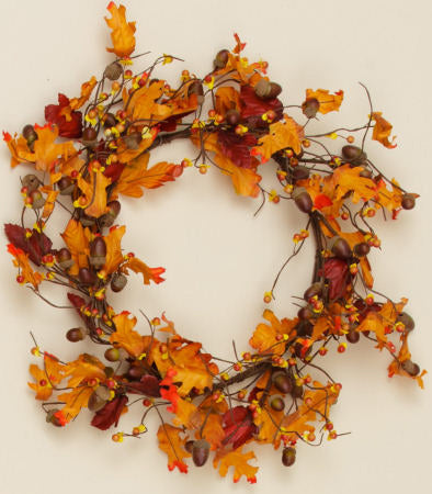 Wreath - Fall Foliage
