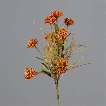 Branch - Rust Cluster Flowers