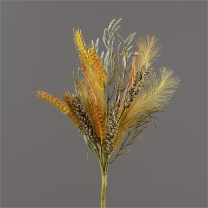 Branch - Wheat, Fall Grasses