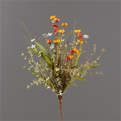 Branch - Assorted Grasses, Mini Mums