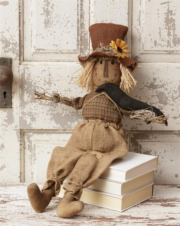 Scarecrow - Sitting Crow
