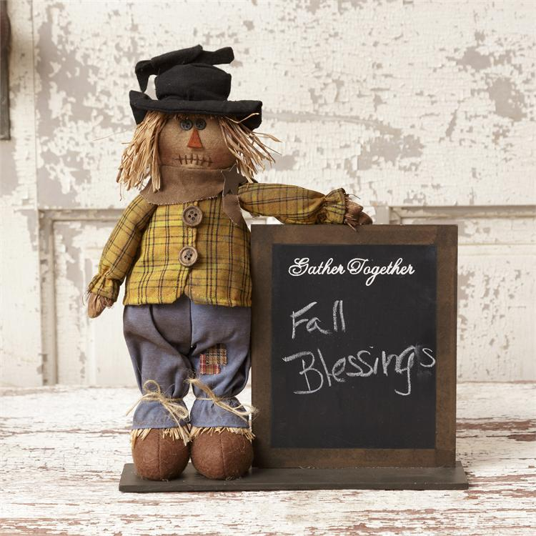 Scarecrow - Gather Together Chalkboard