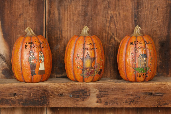 Pumpkins - Carved Inspirational