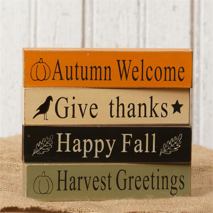 Mini Message Blocks - Fall Expressions