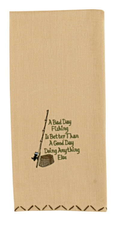 A Bad Day Dishtowel