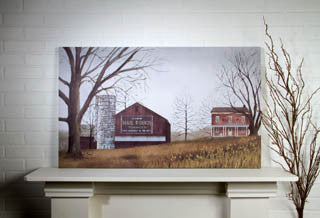 Mail Pouch Barn Canvas