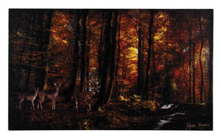 Woodland Deer Canvas