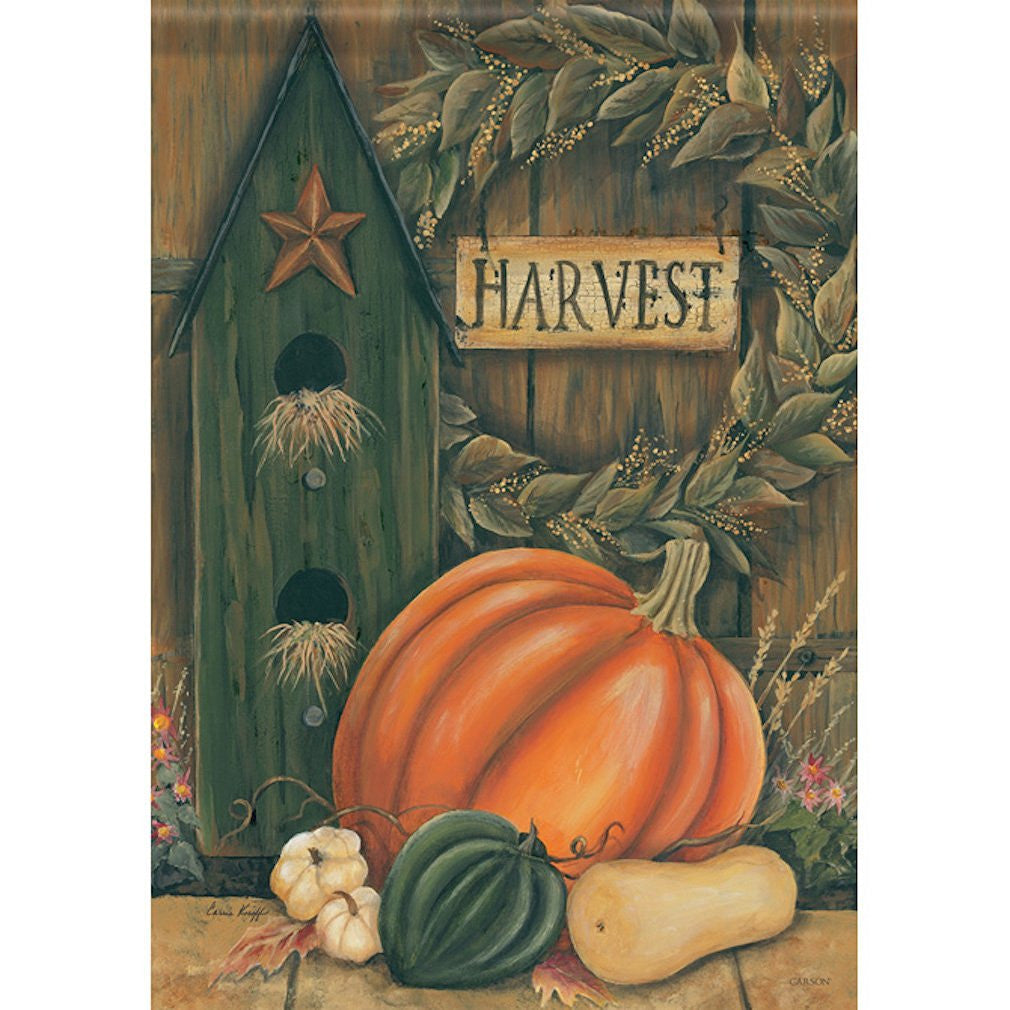 Primitive Harvest Garden Flag