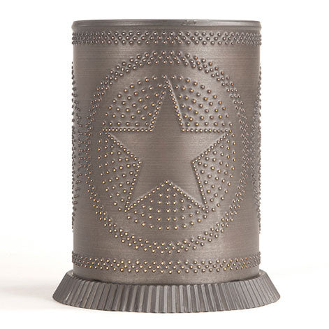 Jar Candle Warmer with Regular Star -Country Tin