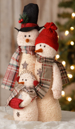 Snowman - Family Of Three
